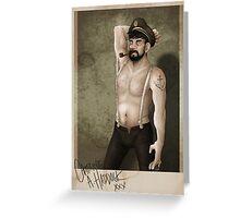 Capitaine Haddock Greeting Card