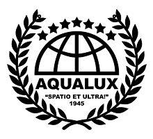 Aqualux Logo by Bob Bello