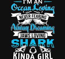 SHARK GIRL SHIRT Womens Fitted T-Shirt