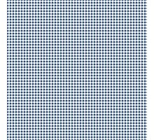 Classic Houndstooth in Riverside Blue and White Photographic Print