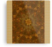 Mandala Autumn- Home Decor Metal Print
