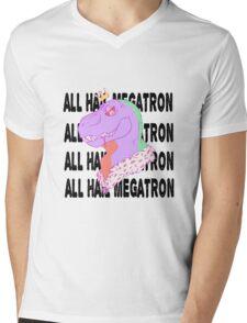 TYRANT (Black Text) Mens V-Neck T-Shirt