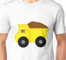 Yellow Dump Truck Unisex T-Shirt