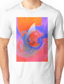 Traveling In Orange Space © Brad Michael Moore T-Shirt