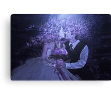 celebrating love Canvas Print