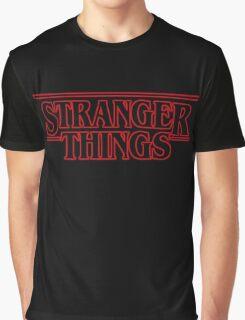 stranger things. Graphic T-Shirt