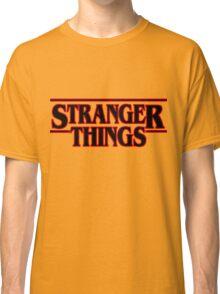 stranger things. Classic T-Shirt