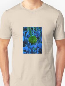 The green ball flower Unisex T-Shirt