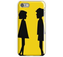 Boy and girl iPhone Case/Skin
