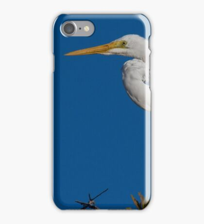 Kink Neck Egret iPhone Case/Skin