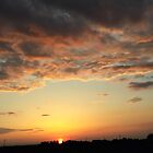 Sunrise in Alberta by MaeBelle
