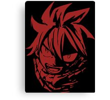 Natsu Fairy Tail - The son of fire dragon Canvas Print