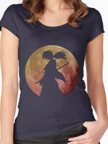 Kenshin into the Dark Women's Fitted Scoop T-Shirt