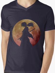 Kenshin into the Dark Mens V-Neck T-Shirt