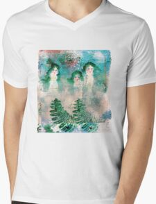 Moonlight Naked Walk Mens V-Neck T-Shirt