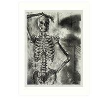 Sassy Skeleton Art Print