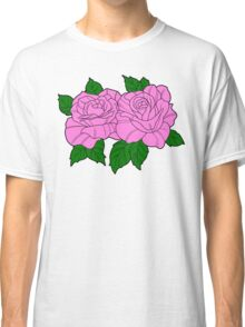 Roses - Pink Classic T-Shirt