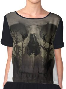 Desolate mind - Skull Collection Chiffon Top