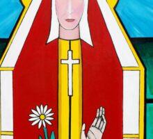 Knights Templar Mother Mary Sticker
