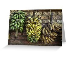 Colombian Platanos Greeting Card