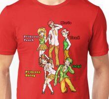 Manga Style Nintendo Mario Character Fan Art Unisex T-Shirt