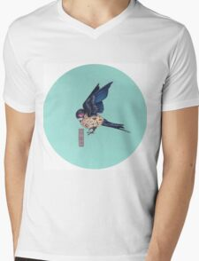 Generation Egg Mens V-Neck T-Shirt