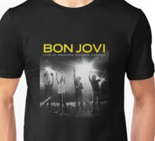 bon jovi live at madison square garden Unisex T-Shirt