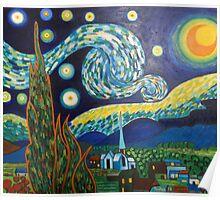 Vincent Van Gogh, Starry Night Poster