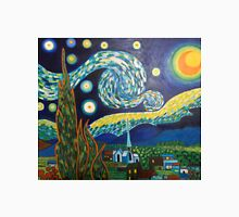 Vincent Van Gogh, Starry Night Unisex T-Shirt