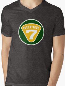 SUPER 7 Lotus Mens V-Neck T-Shirt
