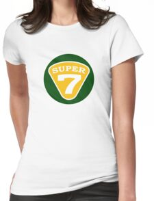 SUPER 7 Lotus Womens Fitted T-Shirt