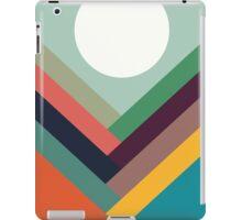Geometric Rows of Valleys iPad Case/Skin