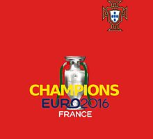 EURO 2016 CHAMPIONS - Portugal Football Team Unisex T-Shirt