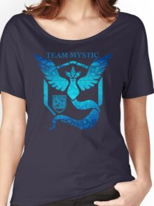 Epic Nerd Camp Team Mystic Women's Relaxed Fit T-Shirt
