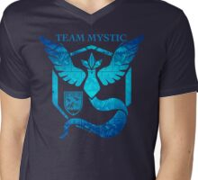 Epic Nerd Camp Team Mystic Mens V-Neck T-Shirt