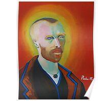 Vincent Van Gogh, self portrait Poster