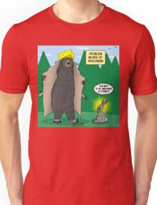 Problem Bears of Wisconsin Unisex T-Shirt
