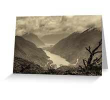Fiordland Greeting Card