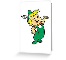 Elroy Jetson Greeting Card