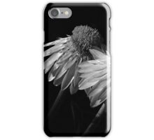 Coneflowers BW iPhone Case/Skin