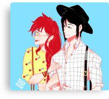 Summer Date Canvas Print