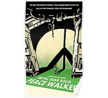 Metal Gear Solid: Peace Walker Poster