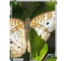 A Showy White Peacock iPad Case/Skin