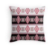 ethnic folk patterns. Throw Pillow