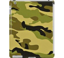 Fashion Green Camouflage iPad Case/Skin