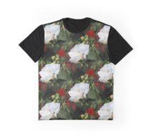 White Roses of Sharon Graphic T-Shirt