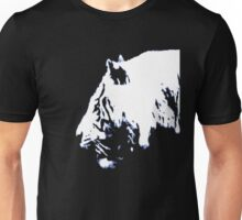 White Tiger Profile Unisex T-Shirt
