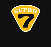 SUPER 7 Badge Cutout Number Unisex T-Shirt