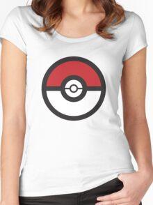 Pokémon GO Pokéball Squad by PokeGO Women's Fitted Scoop T-Shirt
