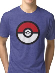 Pokémon GO Pokéball Squad by PokeGO Tri-blend T-Shirt